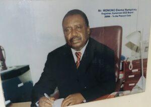 Dr. MONONO Ekema Hymphrey