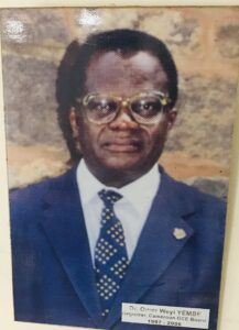 Dr. Omer Weyi YEMBE