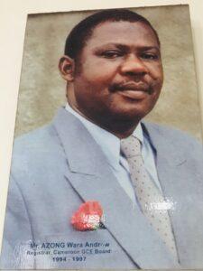 Mr. AZONG Wara Andrew